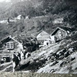 Brekke Gard. Nederst Sivle, fotografert på slutten av 1800-talet